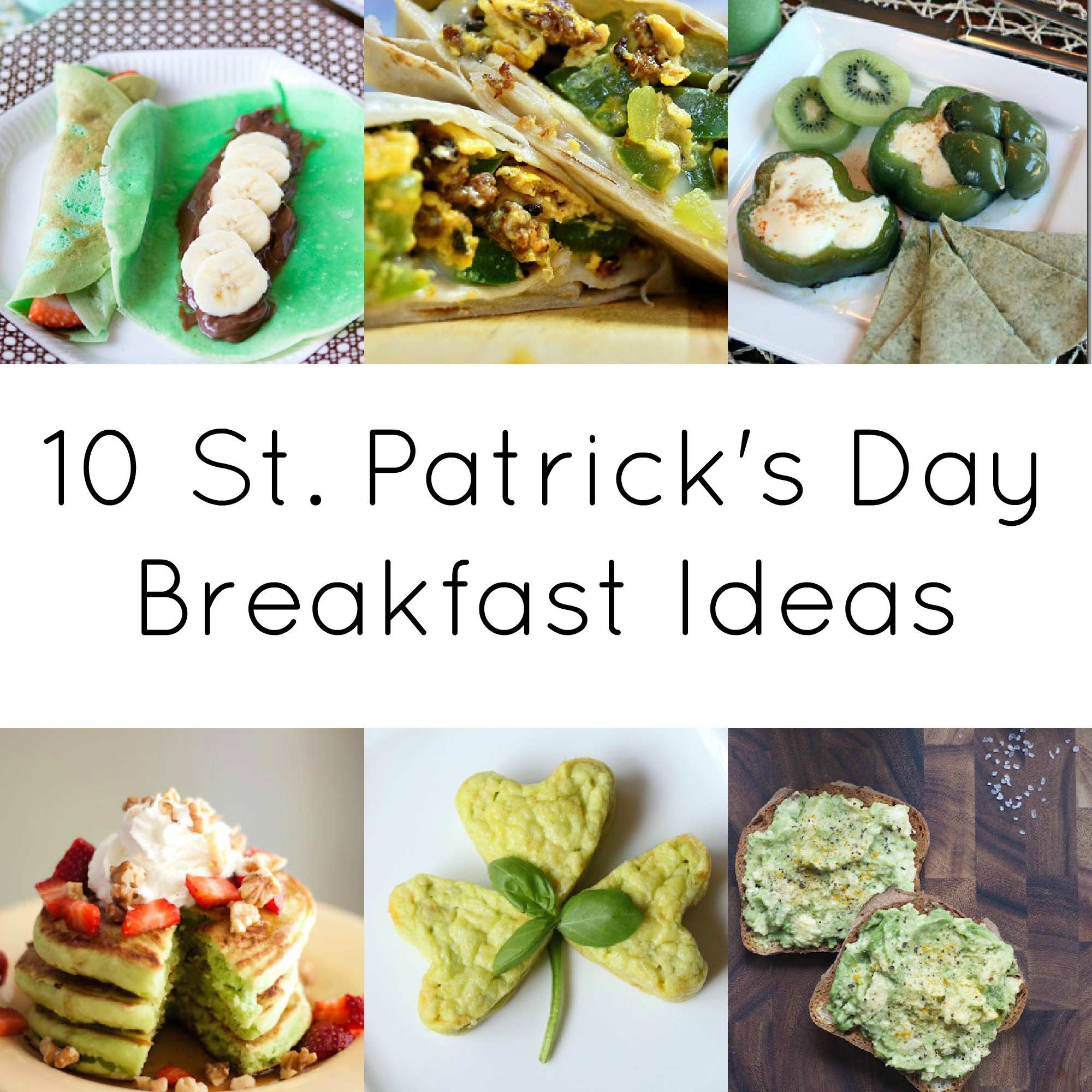 10 St. Patrick's Day Breakfast Ideas