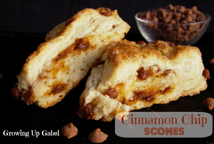 Cinnamon-Chip-Scones