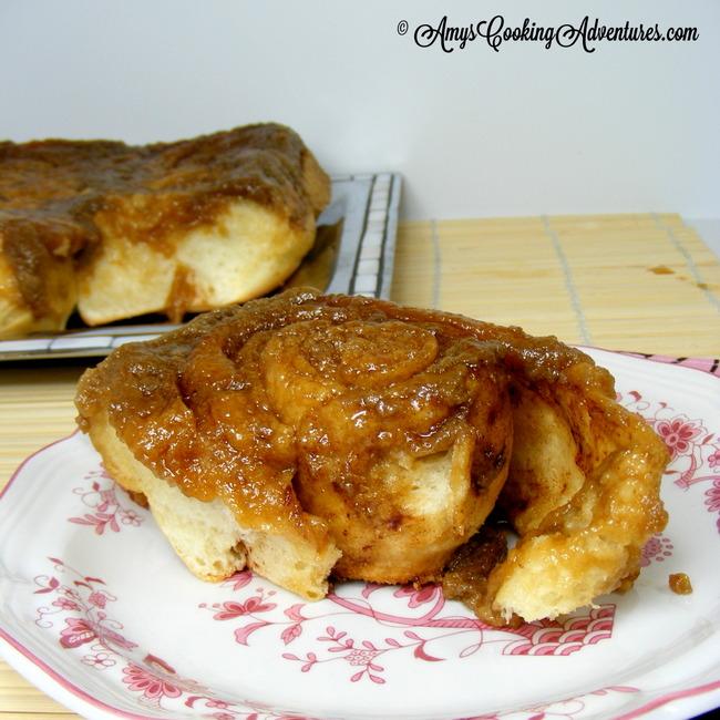 Grandma's Caramel Rolls 3 © AmysCookingAdventures.com