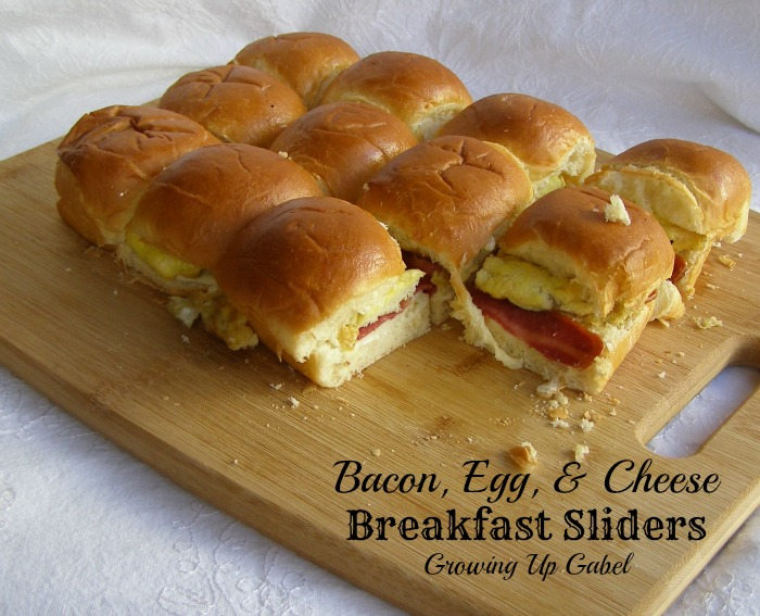 Breakfast Sliders