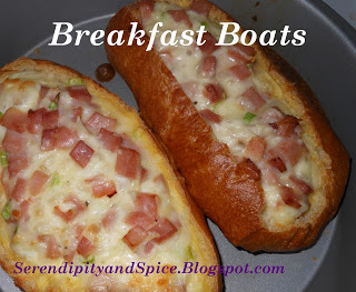 ham and cheese boats