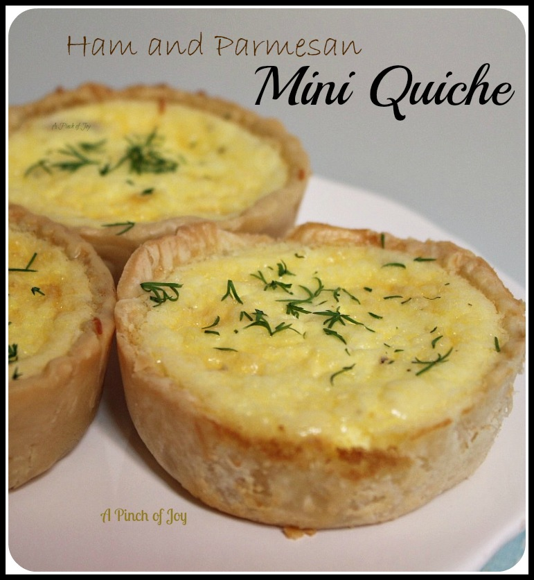Ham and Parmesan Mini Quiche