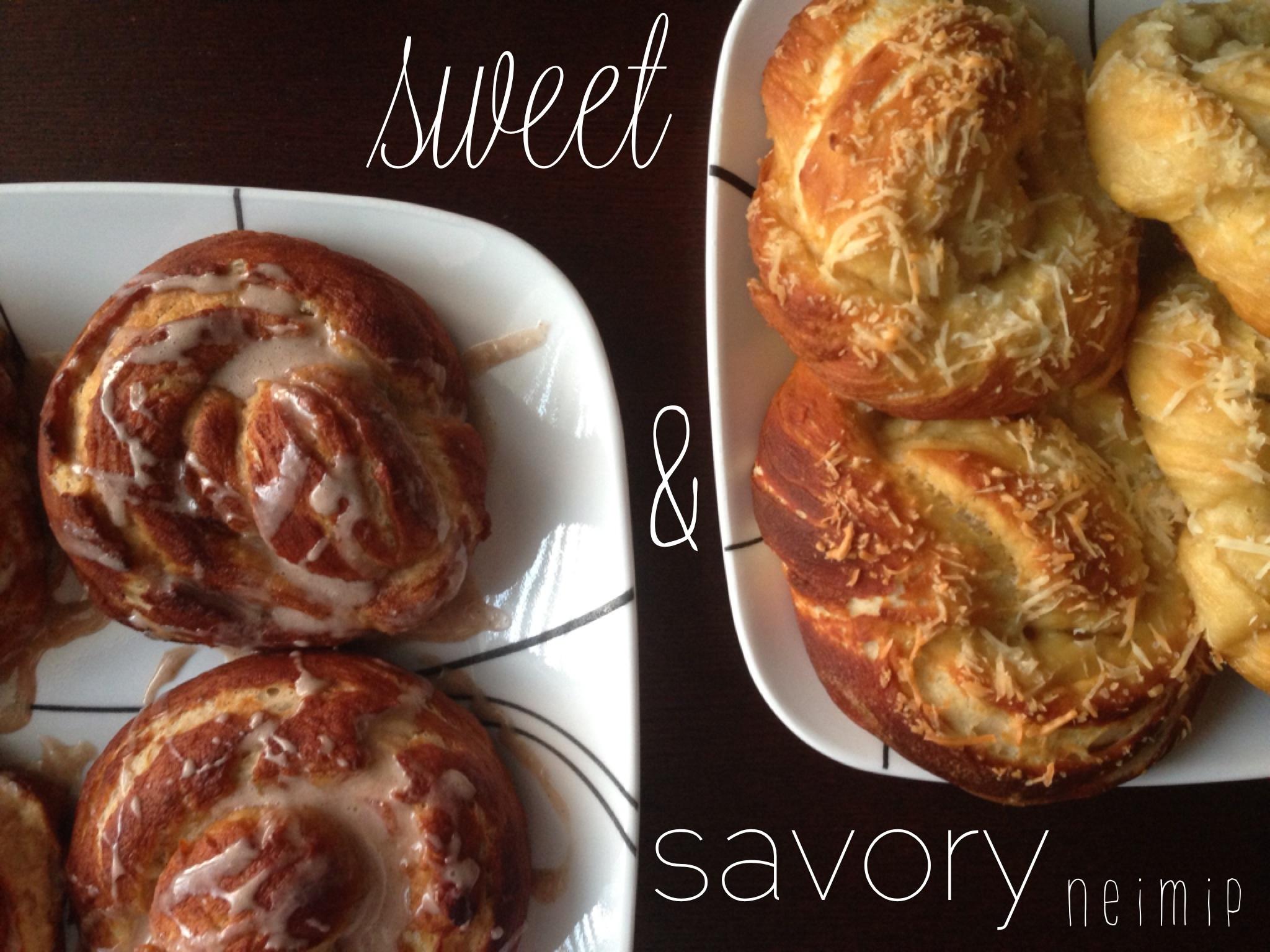 Sweet & Savory Pretzel Rolls
