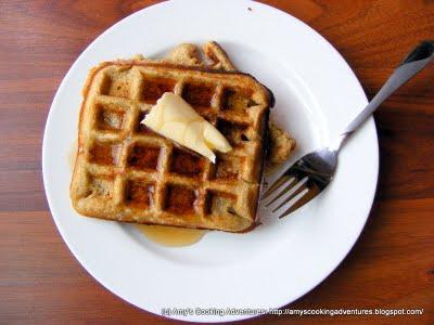 Buttermilk Zucchini Waffles