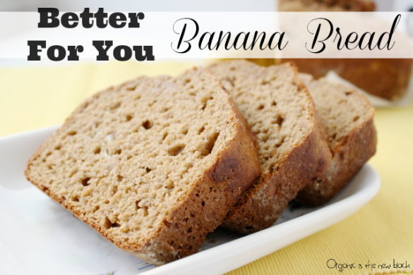Better for you Banana Bread