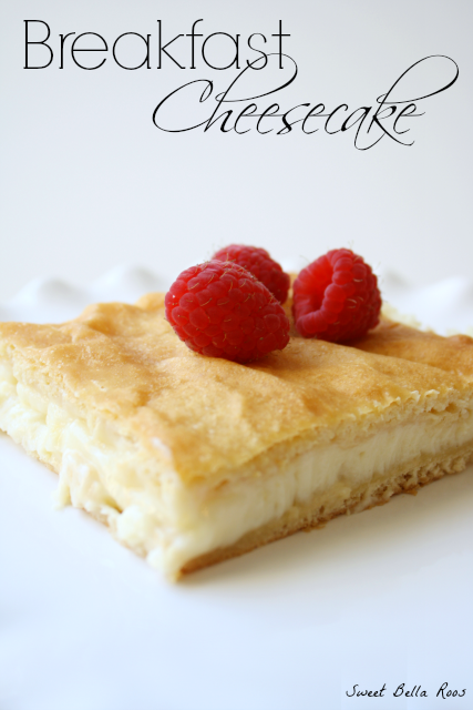 Easy Breakfast Recipes: Breakfast Cheesecake
