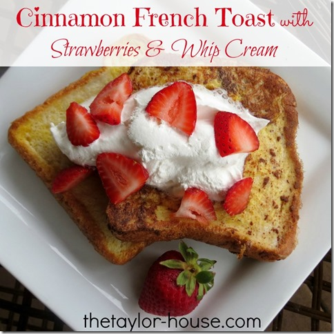 Simple French Toast Recipe: Cinnamon French Toast