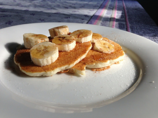Easy Breakfast Recipes: Banana Bread Pancakes