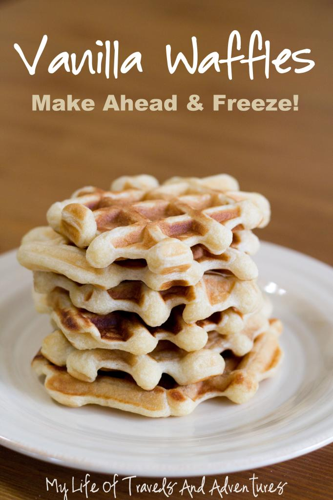 Easy Breakfast Recipes: Vanilla Waffles