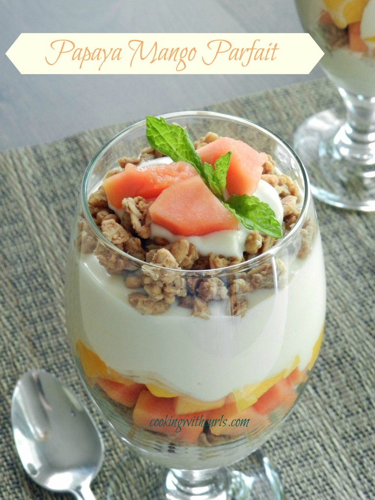 Easy Breakfast Recipes: Papaya Mango Parfait