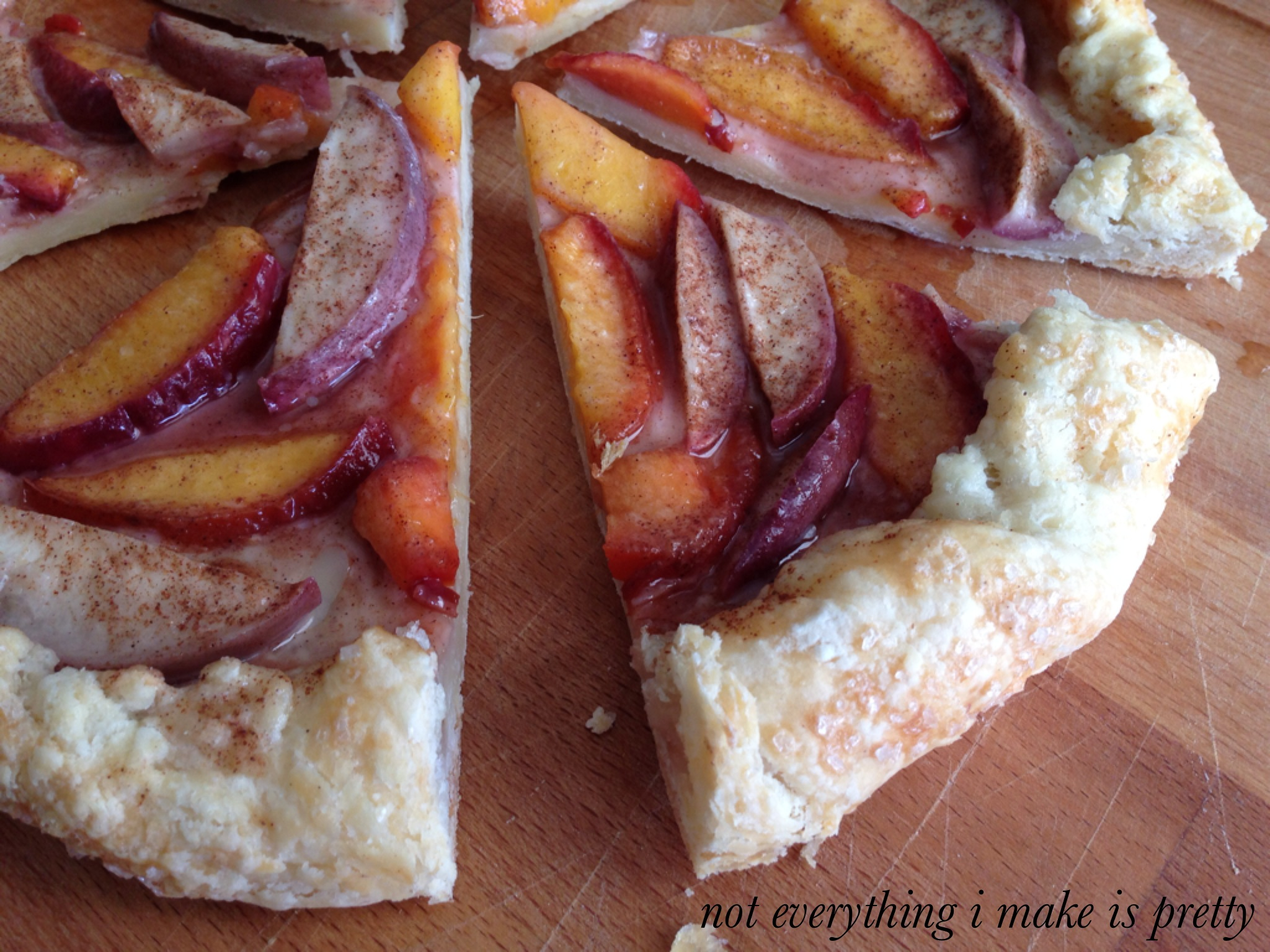 Spiced Crostata with Nectarines