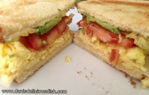Easy Breakfast Recipe: Simple Scrambled Breakfast Sandwich