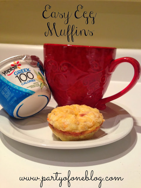 Easy Breakfast Recipe: Easy Egg Muffins
