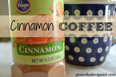 Easy Coffee Recipe: Cinnamon Coffee