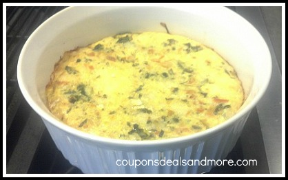 Artichoke and Cheese Frittata